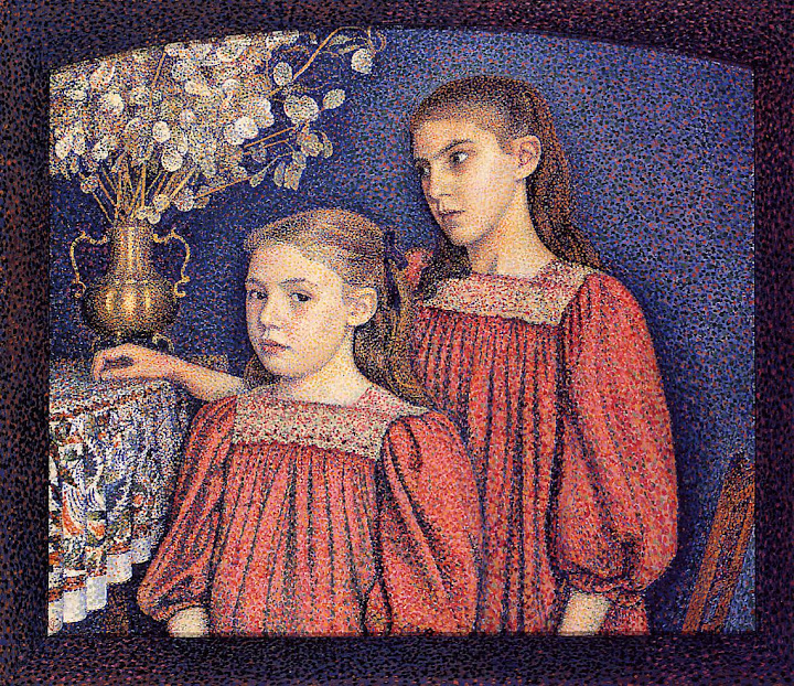 Georges Lemmen - The Serrys Sisters