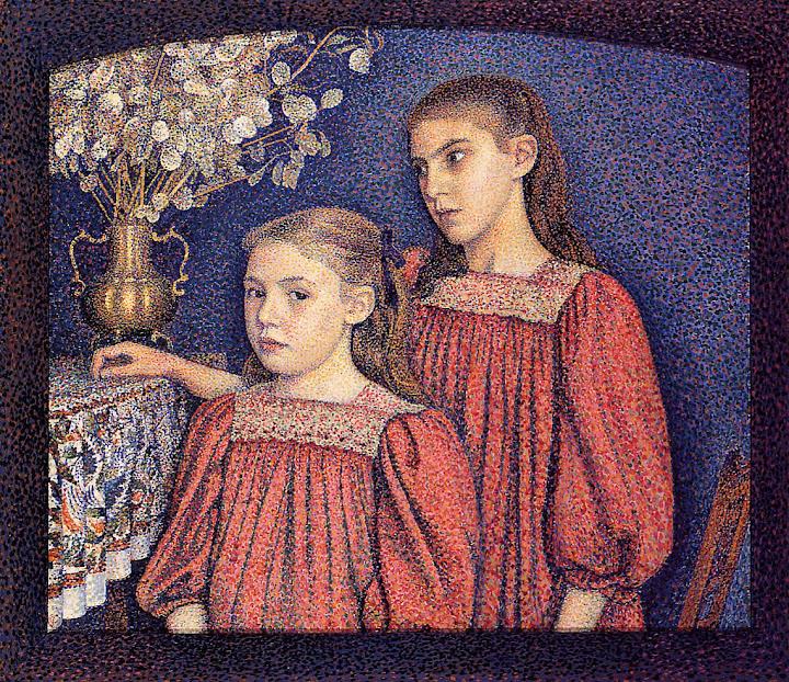 Georges Lemmen - The Serrys Sisters