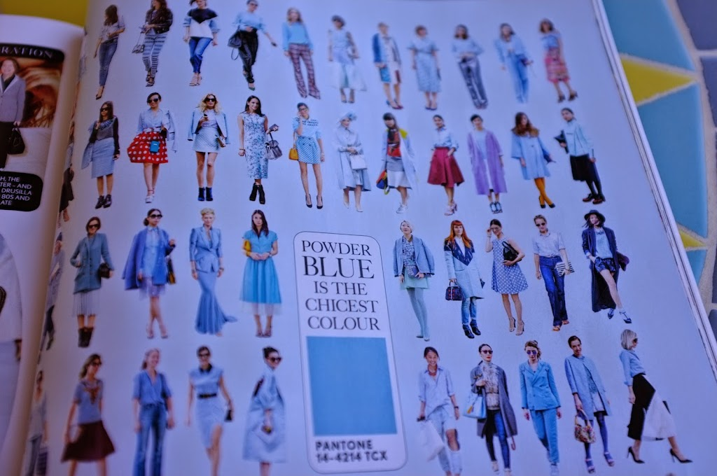 powder blue vogue UK