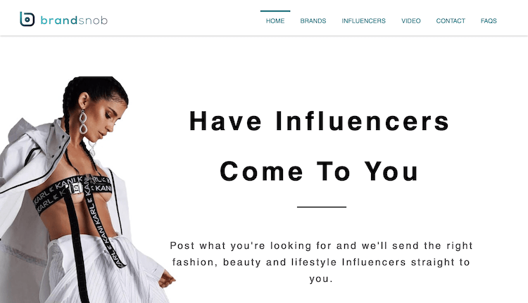 BrandSnob - Influencer Outreach Platform