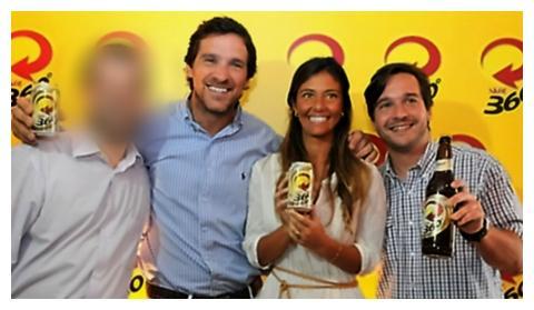 Jorge Mastroizi, Maria Fernanda Albuquerque and Pedro Earp, Ambev executives responsible for approving the advertisement.