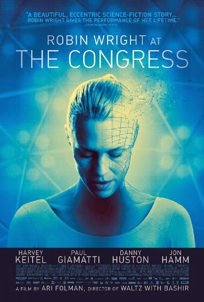 Poster Of English Movie The Congress (2013) Free Download Full New Hollywood Movie Watch Online At Alldownloads4u.Com