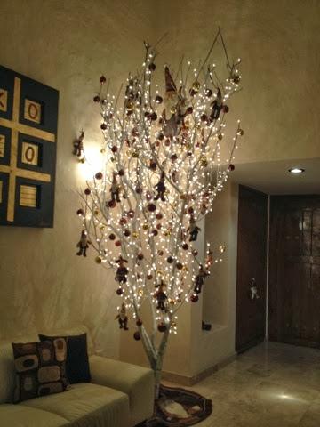 Simplemente mujer el misterio de mi rbol de navidad - Como decorar un arbol seco ...
