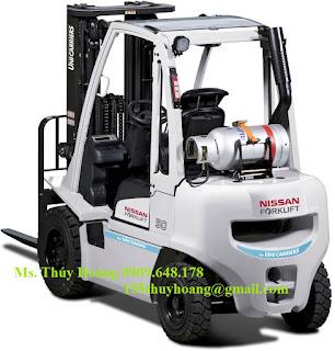 Xe nâng hàng chạy xăng gas 1.5 - 5 tấn