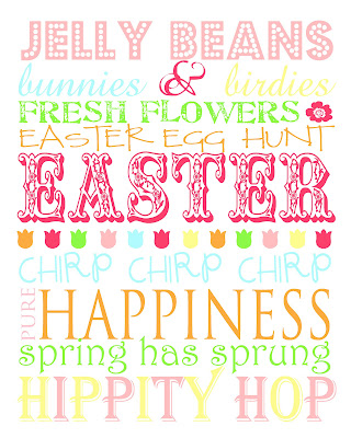 Hop Scotch Studio Designs Easter Subway Art Printable