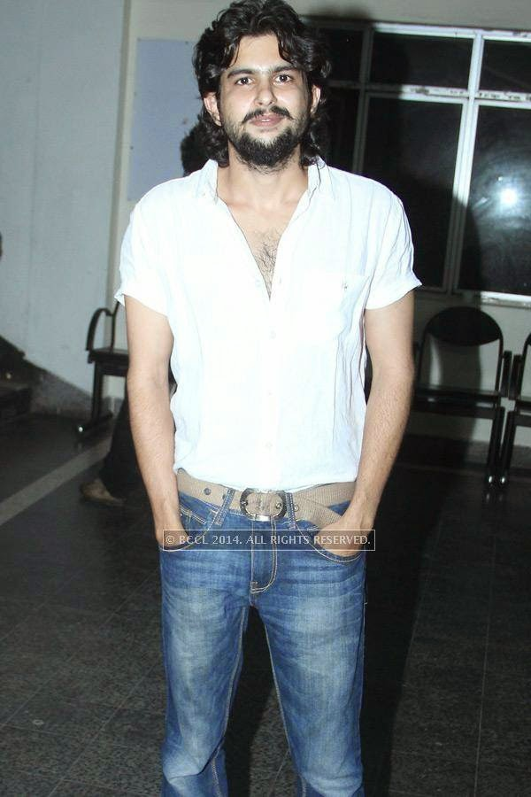 Arjun during the music launch of Rajeev Ravi's upcoming movie Njan Steve Lopez in the city.