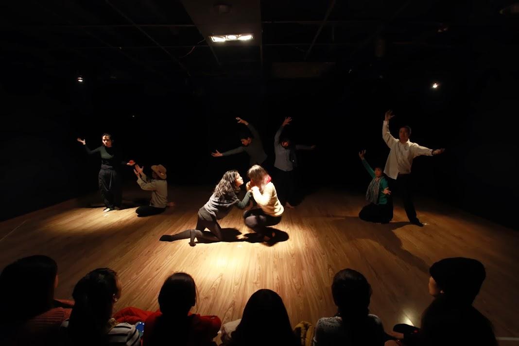 Sân khấu Ứng tác với nghệ sỹ Mạnh Đoàn và Bảo Khiêm (15-19/4/2014)