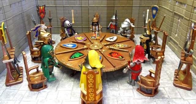 I Just Wanted To Sit A Few Fancy Knights Together... Sorry History Buffs!