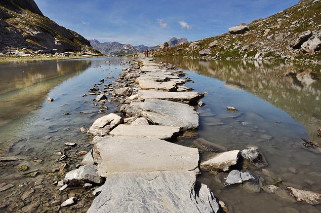 Traversée des Alpes, du lac Léman à la Méditerranée Gr5-mont-blanc-briancon-lac-vaches-2