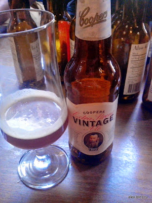 extra strong vintage ale Coopers