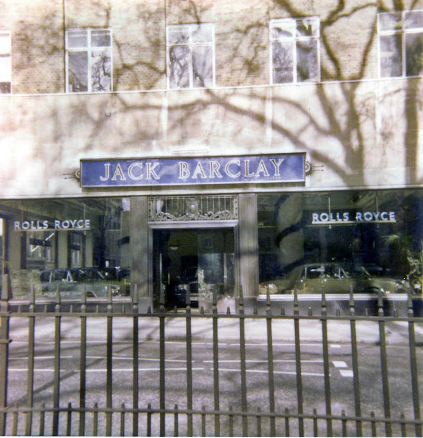 BENTLEY SPOTTING: Jack Barclay The Year 1977