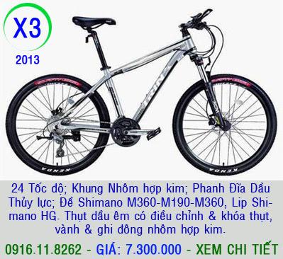 XE ĐẠP THỂ THAO, xe dap the thao, xe dap trinx, xe đạp thể thao chính hãng, xe dap asama,  x3 2013