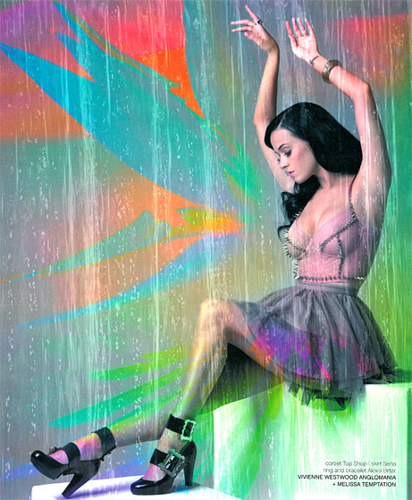 Katy Perry In Plastic Dreams Magazine
