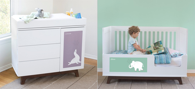 Great The Same Crib May Also Be Passed To The Next Baby In The Family By Using  The Interchangeable