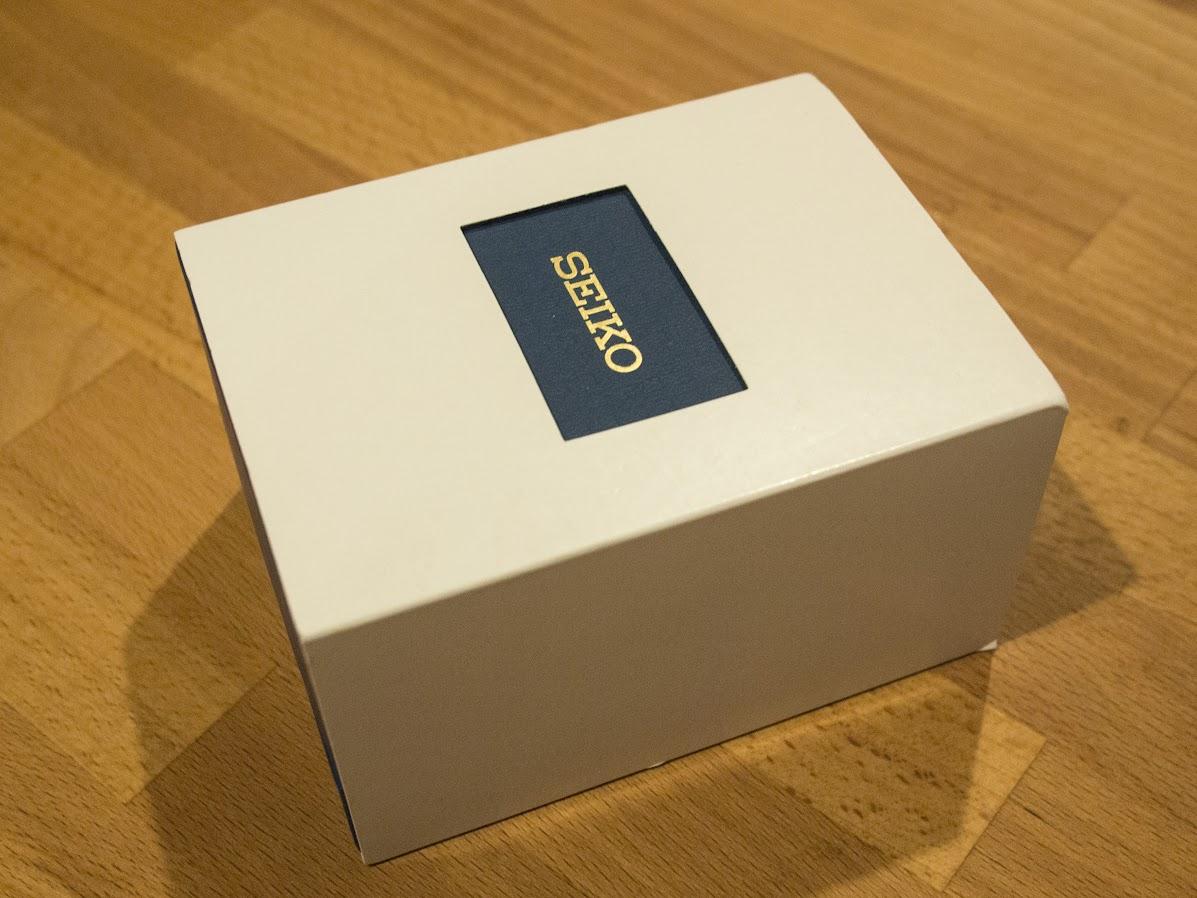 The Seiko box