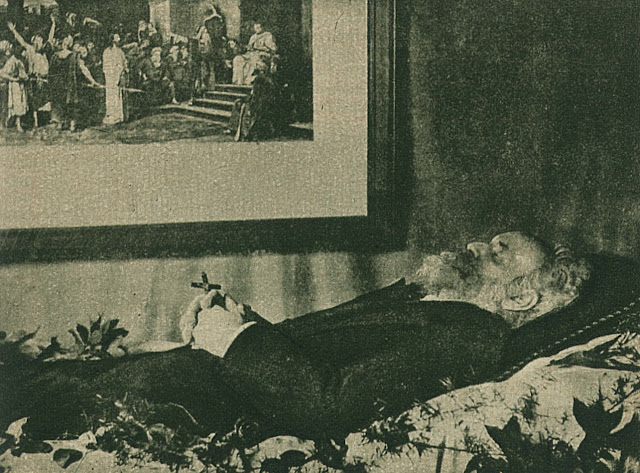 Munkácsy a halottas ágyon