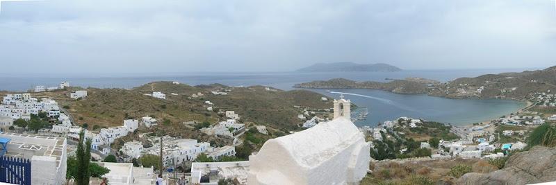 panorama sulla baia di Ormos
