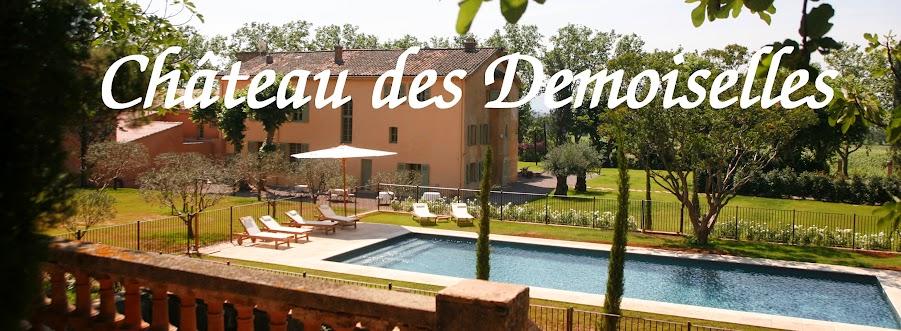 chateau des Demoiselles-dracenie-var-provence-VTT-vigne+et+vin-oeunotourisme-piscine-nature-detente