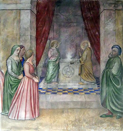 Zaccaria nel tempio, duomo di San Donà di Piave