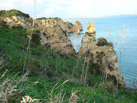 Algarve coast line