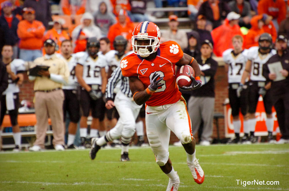 Clemson vs. Wake Forest Photos - 2009, Football, Jacoby Ford, Wake Forest