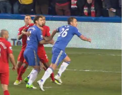 John Terry, Chelsea - Liverpool