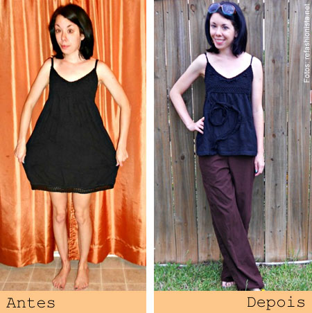 ReFashionista transforma roupas