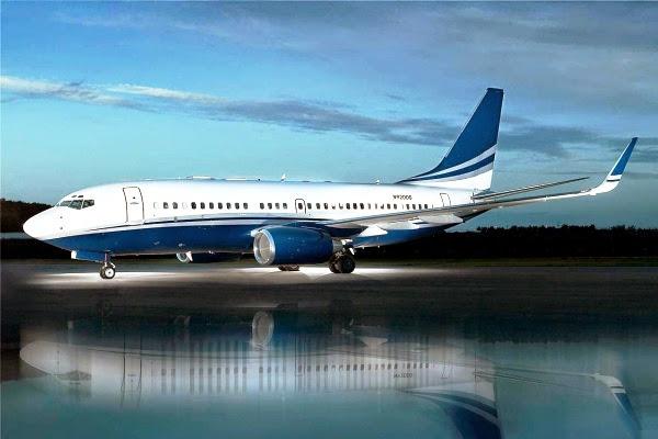 Boeing Business Jet II (BBJ II). ZonaAero