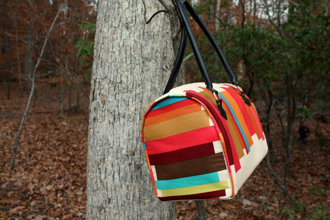 From Big City Bags by Sara Lawson || sewn by Jill Dorsey at Made with Moxie