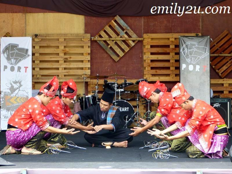 Perak folk dances
