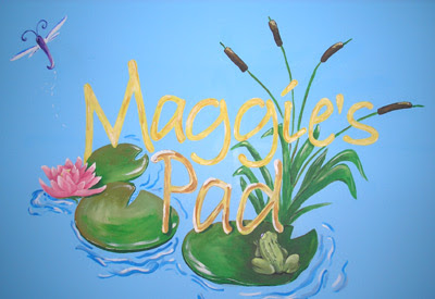 This painted for a cute girl who loved frogs...