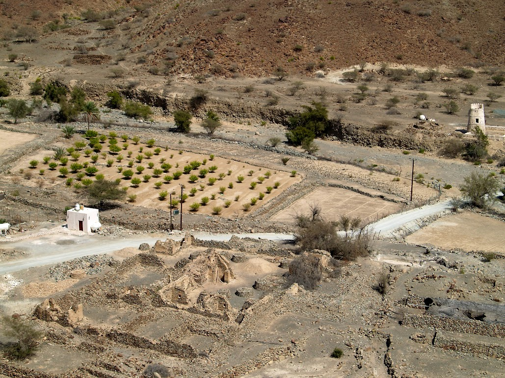 Wadi al Helo view
