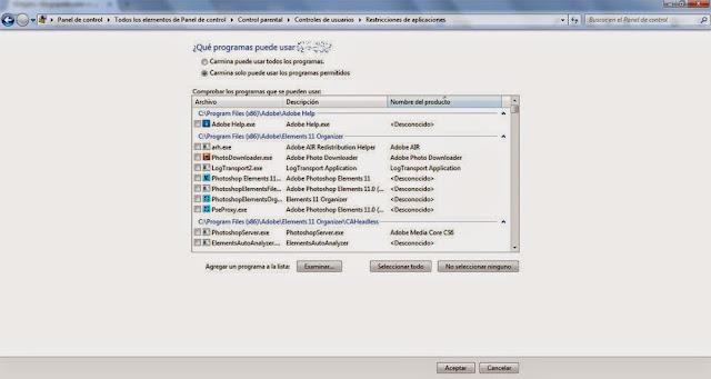 Crear nuevos usuarios en Windows 7