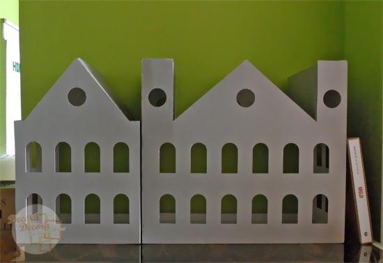 Casa de cartón.