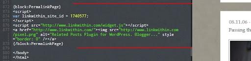 Tumblr, Blogger, Overblog - LinkWithin sur votre blog