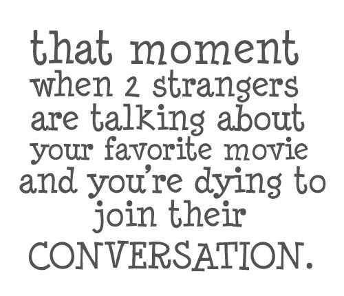 Favorite Movie Conversation