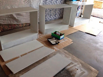 undercoat Zinner for painting laminate furniture