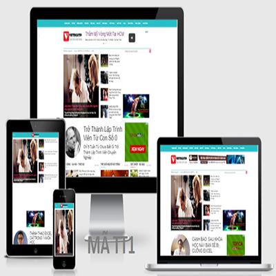 Thiết kế website tin tức báo trí