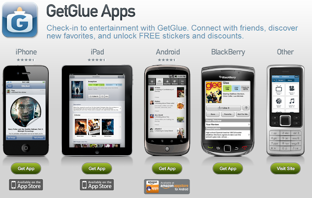 GetGlue Mobile Applications