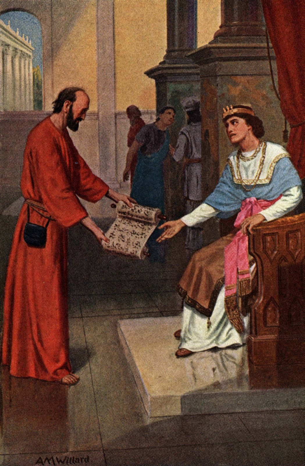 Bible lesson josiah finds the law of the lord - Bible Stories King Josiah