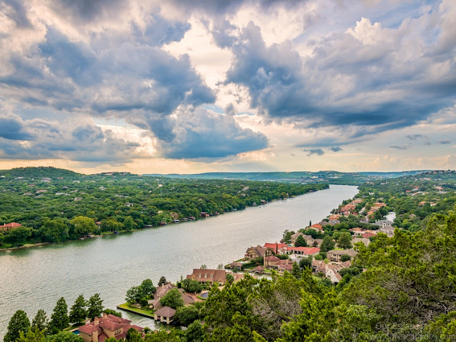 View from the summit of Mount Bonnell
