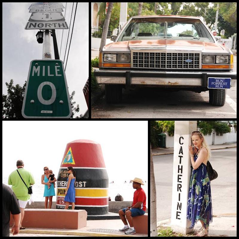 Key West: Southern Most Point, Milemarker 0 per Klick vergrößern