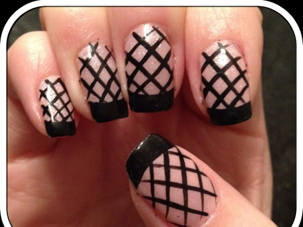 Day 80 - Fish net nails