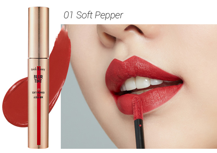 Son ETUDE HOUSE quick & easy BLUR TINT Soft Pepper