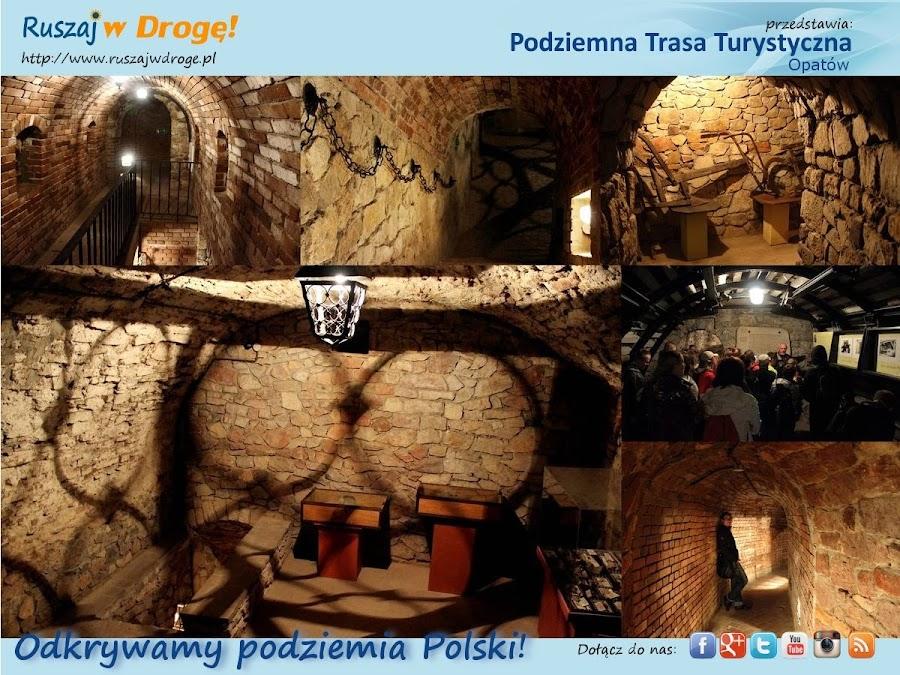 Ruszaj w Drogę w Podziemnej Trasie Turystycznej w Opatowie