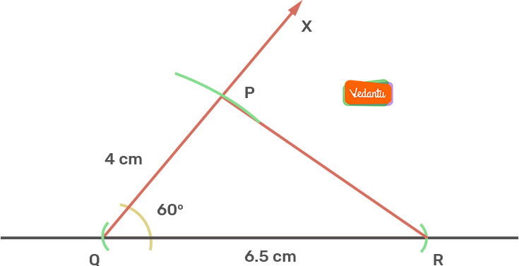 PQR is the required triangle