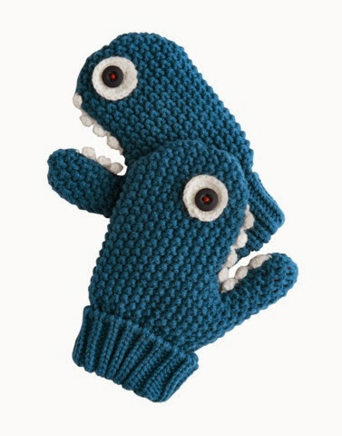 Jaws shark gloves by Joules