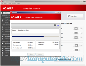 cara upadate avira2013 tekan f9 Cara Update Avira Free Antivirus Otomatis dan Manual(Offline)