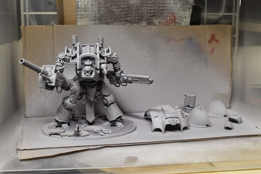 Imperial Knight primed