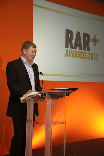RAR MD - Steve Antoniewicz at the 2012 RAR Awards